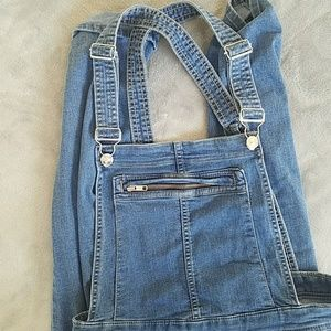 H&M Soft Denim Overalls